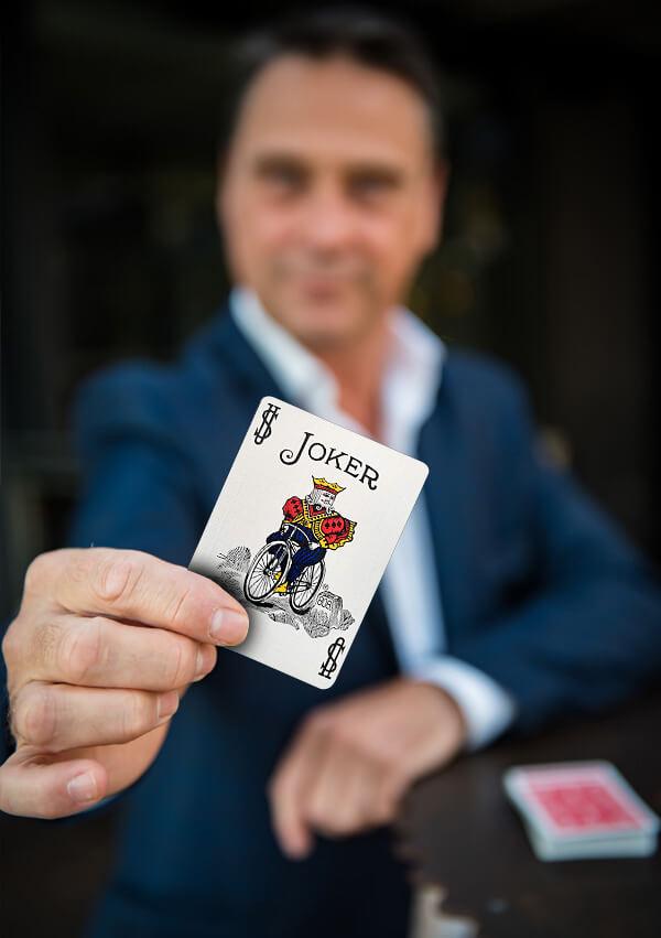 magicien a la carte Claude Brun